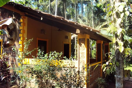 Spacious Cottage with pool on Eco-Farm in Goa - Karmane - Diğer