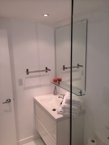 Brand new Bathroom all white