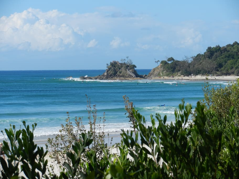 The Pass - Byron Bay. Great for surfing