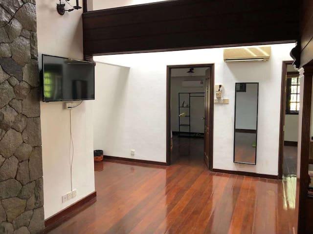 马来西亚原生态民居家庭房(珍珠山庄两室一厅)