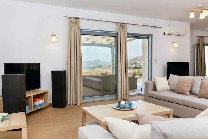 Spacious Villa Jessy, 150m² - Full Privacy