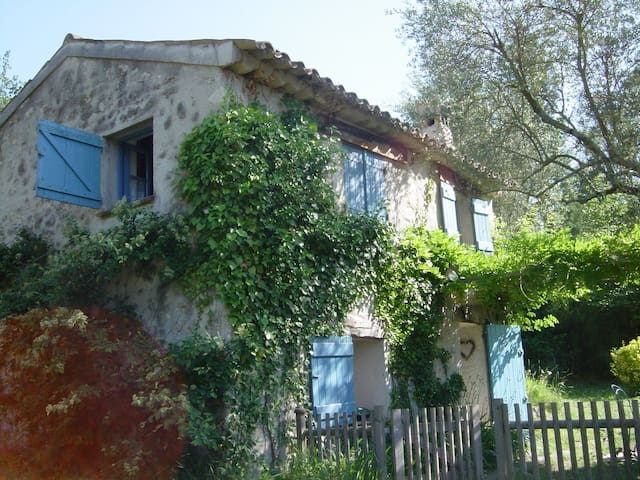 La Bergerie in the olive grove... - Le Bar-sur-Loup - House