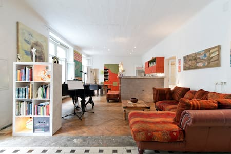 Artistic loft very close to center - Wien - Loft