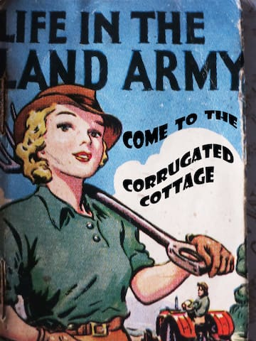 The Corrugated Cottage  WWII  - Somerset - Ev