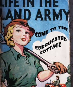 The Corrugated Cottage  WWII  - Somerset