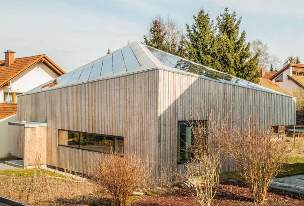 designerhaus mit whirlpool sauna h user zur miete in stelzenberg rheinland pfalz deutschland. Black Bedroom Furniture Sets. Home Design Ideas