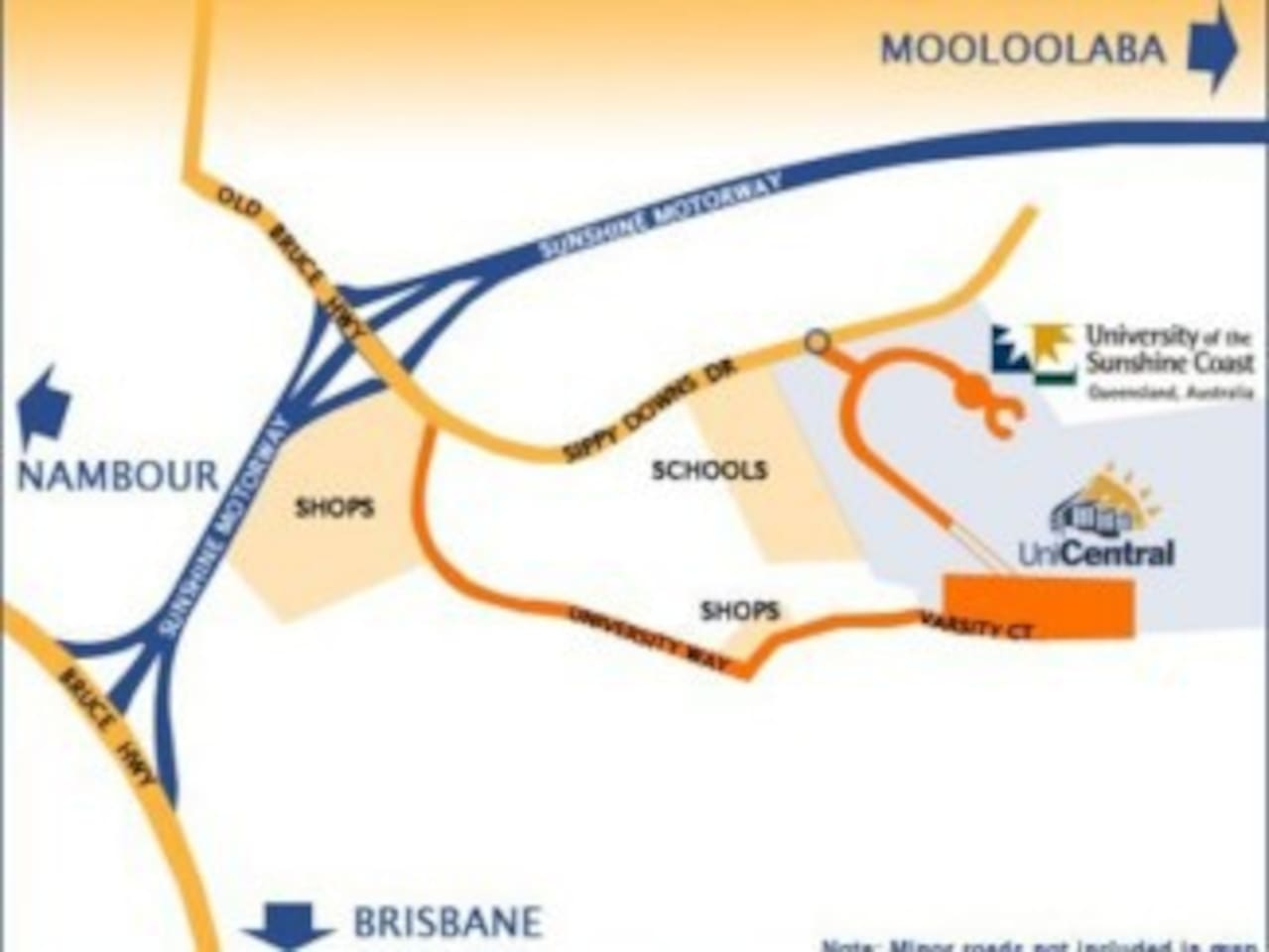Double Bedroom Close To Mooloolaba Apartments For Rent In Sippy - Map of usc sunshine coast