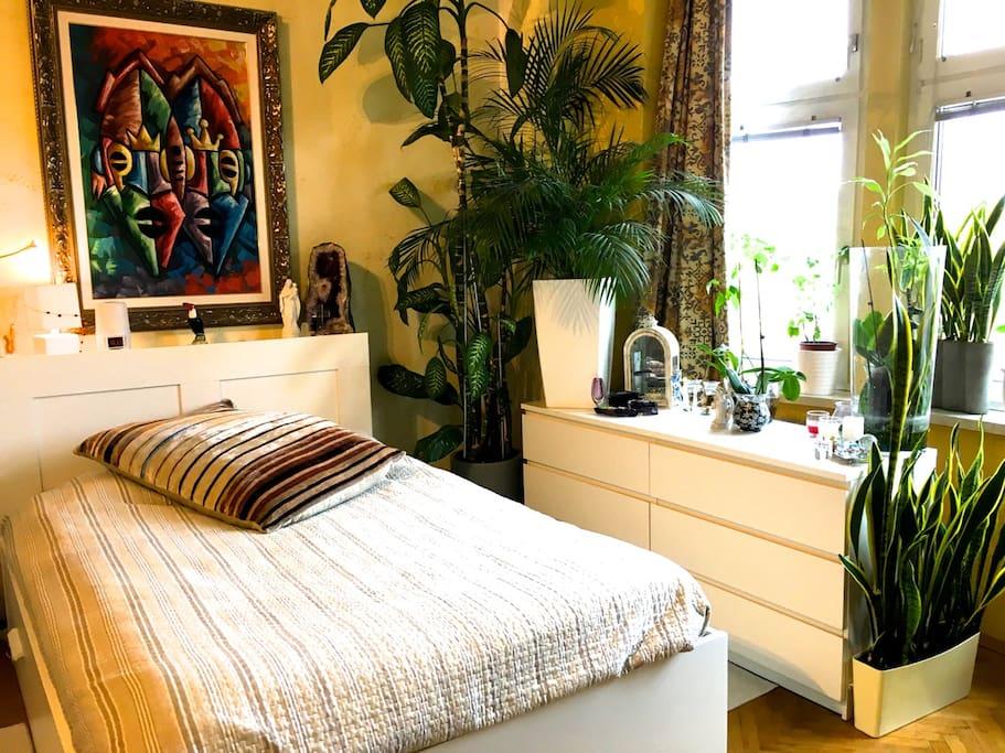 1 Doppelbett Boutique Room Schlafzimmer