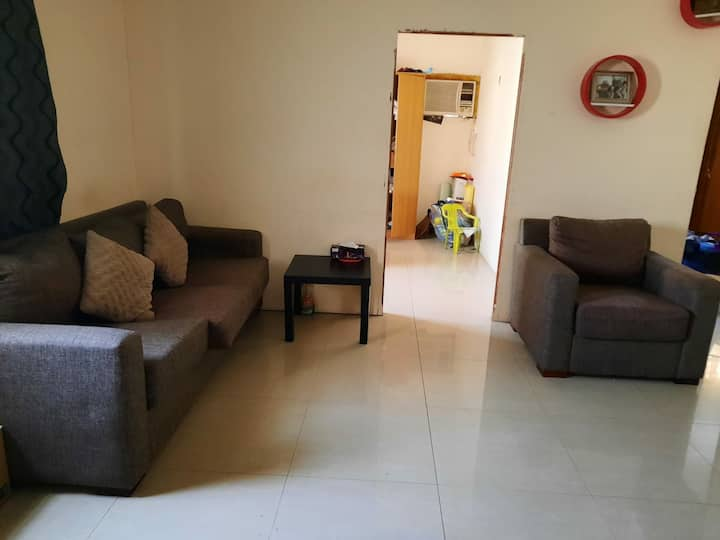 2 bhk room in azizyah for immediate change