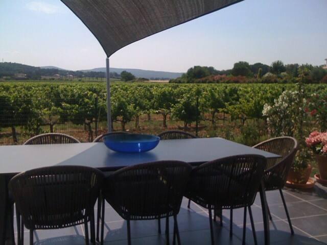 Villa au pieds des Vignes