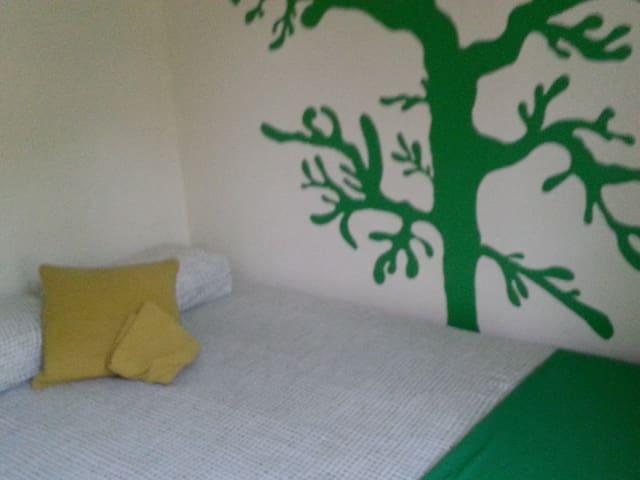 habitacion doble en piso esquinero