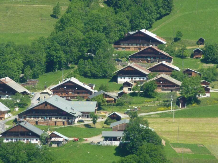 Le hameau du Mont