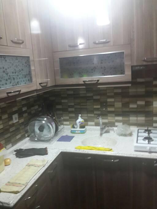 Mutfak Eşyaları Mevcuttur (Mangal İmkanıda Vardır)