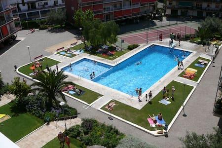 AP-6 OASIS NEAR BARCELONA POOL BEACH RELAX TENNIS - Sant Andreu de Llavaneres - Apartment