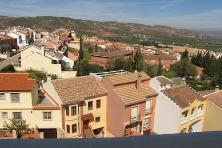 Balcony view over Antequera - Casa