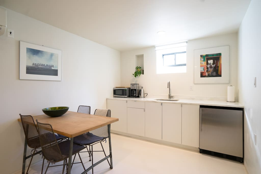 Clean, uncluttered and  modern with new finishes and upgrades