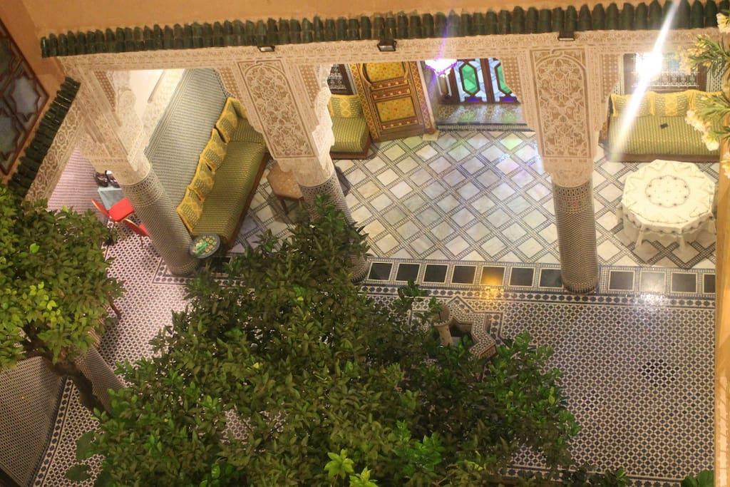 vue panoramique 1 du Riad