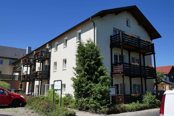 Moderne Ferienwohnungen direkt am Rennsteig