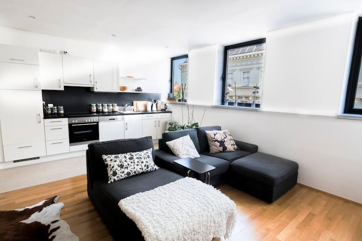 Cosy and Central Apartment near Naschmarkt