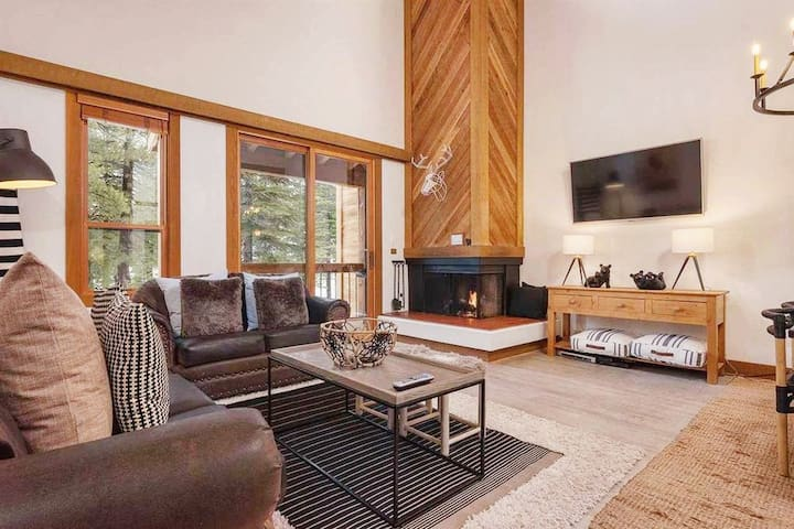 Modern Mountain Home in Northstar at Tahoe