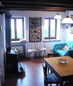 Cosy stone cottage with lake view - Cannero Riviera - House - 2