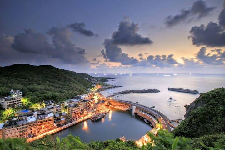 山與海交界的海景渡假屋&潛水浮潛 - 中正區 - Wohnung