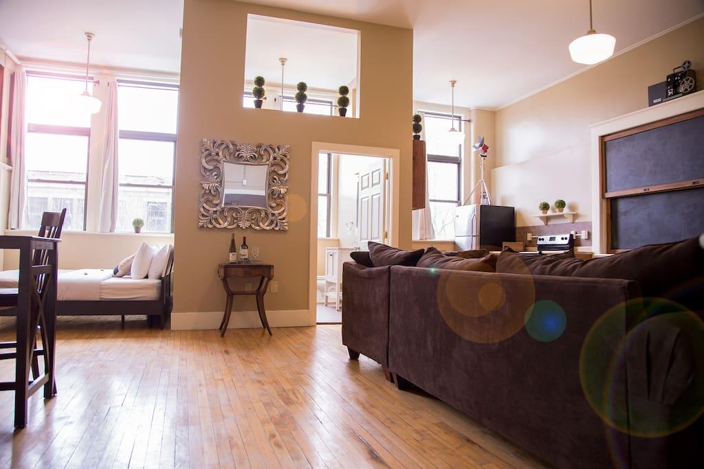 Loft #212 · School 31 Luxury Lofts #212 - Apartments for ...