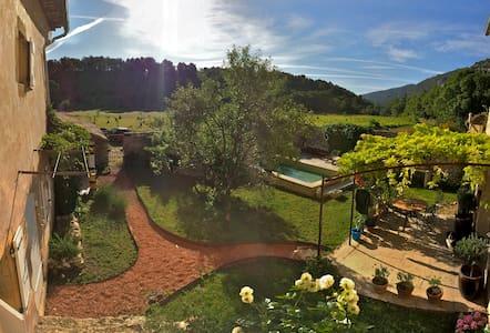 La 'maison d'amis' d'un beau mas provençal - Maubec - Talo
