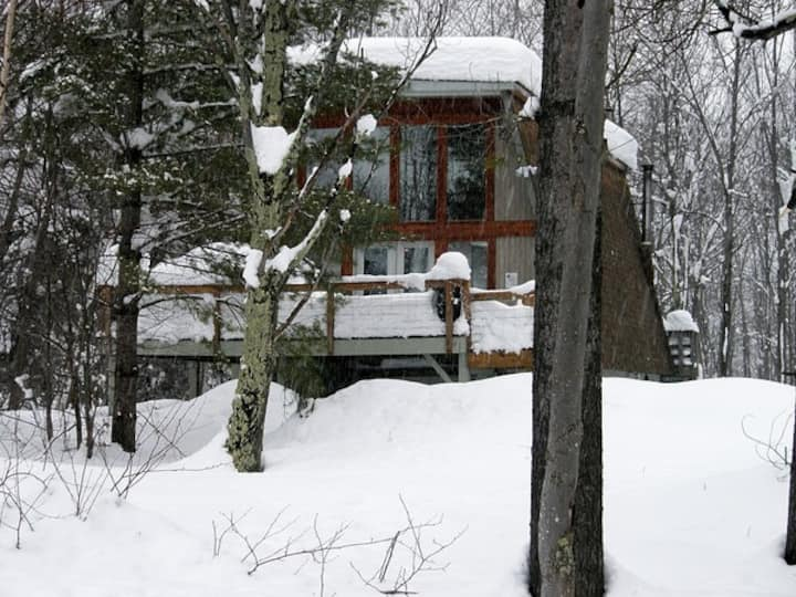 Unique Ski Chalet is Open for Winter Season