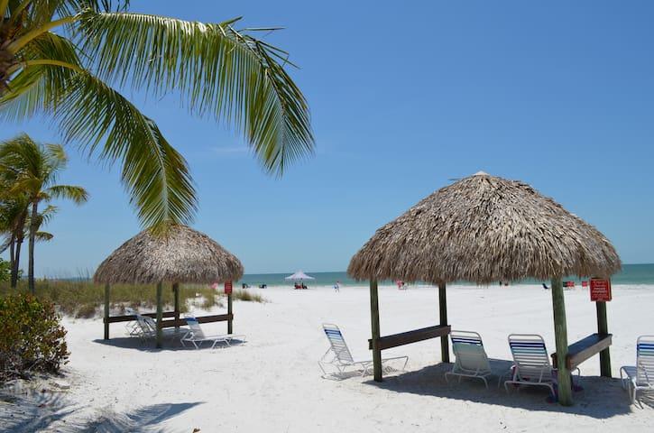 White Sand, Beach Front Condo.