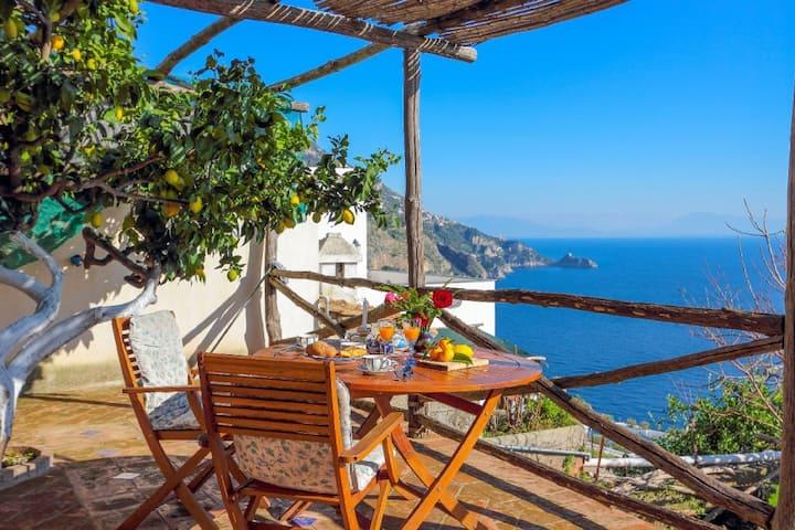 Emotion terrace and garden Praiano