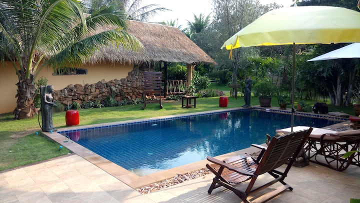 Malee Garden Jungle Villa mit privaten Pool