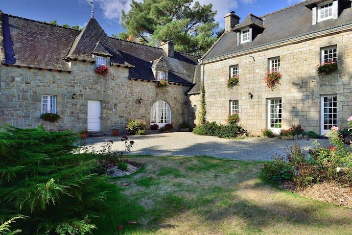 La bellengerie - Melrand - บ้าน
