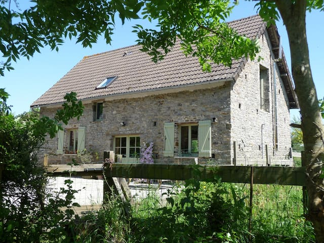 Cosy cottage in peaceful setting - enclosed garden - Saint-Lô-d'Ourville