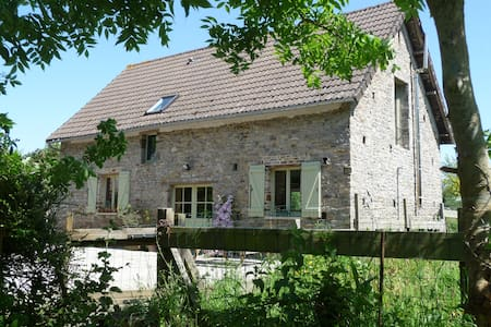 Cosy cottage in peaceful setting - Saint-Lô-d'Ourville - Rumah