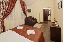 Comfortable room in Sleep Hotel 201
