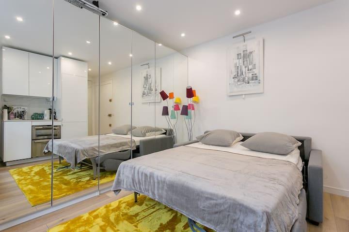 Cosy studio paris montparnasse 15e appartements louer paris le de fra - Airbnb paris montparnasse ...