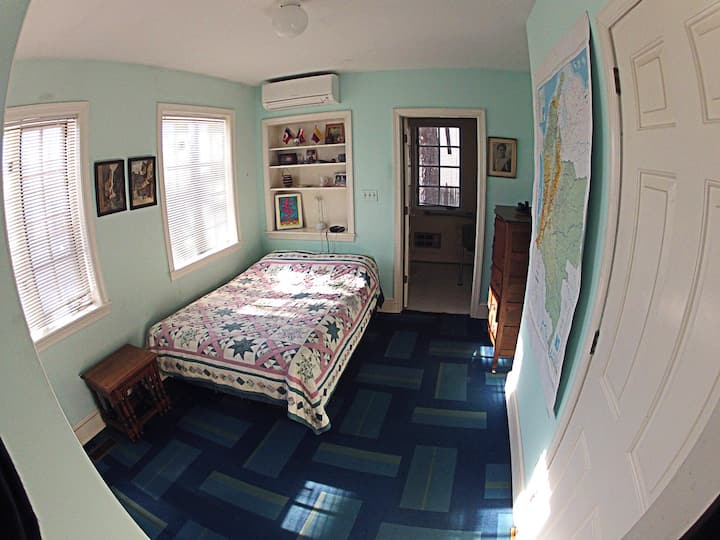 Be a guest in first floor guestroom