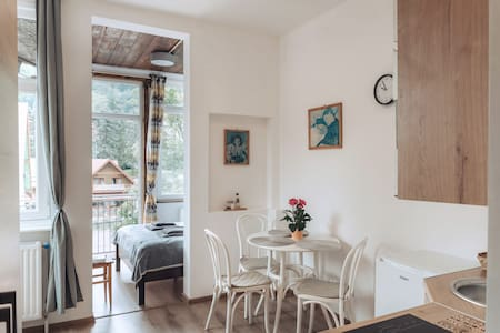 Duszniki-Zdrój Przytulny Apartament z Tarasem