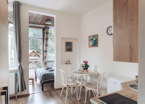 Duszniki-Zdrój Cosy Apartment with Terrace