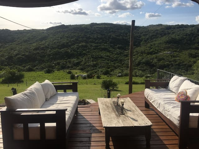 Ranch in the Hills with great view in Uruguay - El Edén - Nature lodge