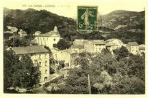 Voilà le petit village de Campo. Corse du Sud, avec son bal qui a lieu le 10 Août de chaque année, et son bar avec soirées corses.