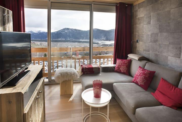 Appartement chalet avec vue exceptionnelle - Les Angles - Flat