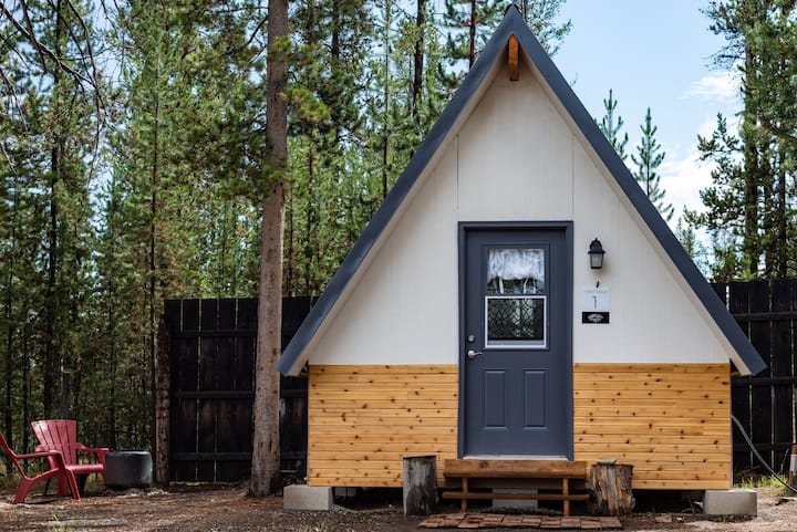 Forest Dream A-frame Cabin