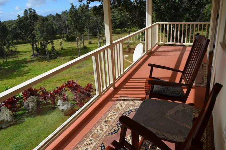 Waiola Guesthouse & Zen Garden - Naalehu - Hus