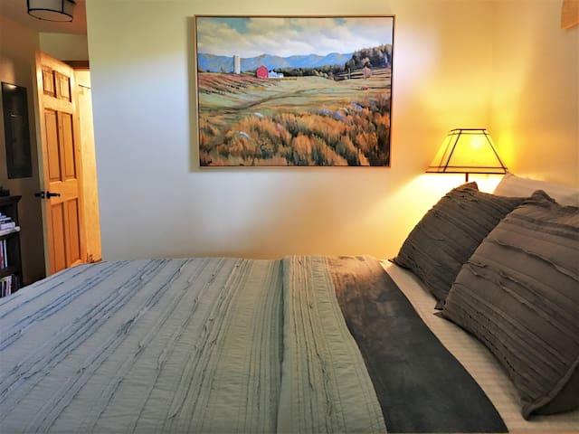 Bedroom for Blue Ridge Artist's Studio