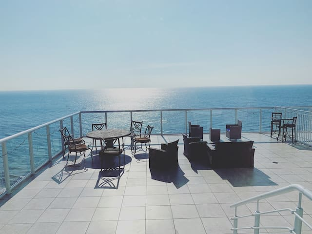 Penthouse at the Ocean Manor Hotel