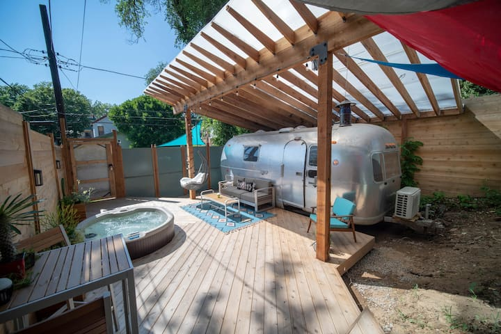 Come stay at the most unique Airbnb in KC!