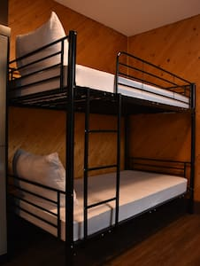 Bunk bed in dorm room