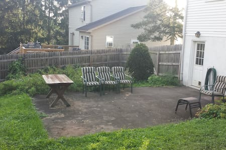 3 Bed/2 Bath House in Central PA with Fenced Yard